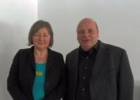 iRock-Netzwerkmanager Herr Dr. Ingo Böhlert  und Frau Petra Wodzicki (beide BWSA e. V.)