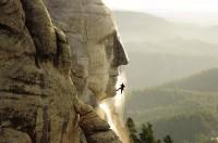 Reinigung am Mount Rushmore